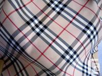 AUTHENTIC PRE OWNED BURBERRY BLUE TAG NOVA CHECK TOTE
