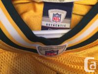 Authentic Game jersey for green bay aaron rodgers.