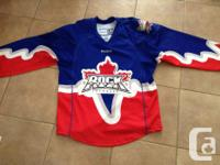 Toronto Rock Jersy from a few years ago. Made by