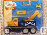 Wooden Thomas Trains NEW in package at approx half the