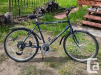 I am selling my AutoBike. I recently bought a road bike