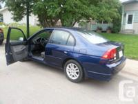 2005 Honda civic car, with 116442kms available for