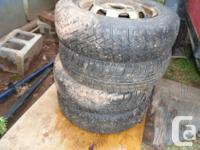 four winter season tire' available have studd's in them
