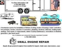 Available RV Technician for all Motorhomes, Travel