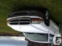 Make. Dodge. Model. Dakota. Year. 1997. Colour. White.