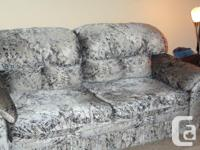 CONCEAL A BED COUCH 72 in. Gray and also Black in color
