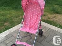 Two Strollers Available! Blue Stroller: $25 Brand new