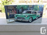 Up for sale today is an Avon 1955 Chevrolet Convertible