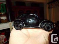 Glass Avon Volkswagon with most of the contents  Call