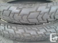 Street/gravel road tires off Suzuki DR650 Dual Sport