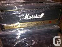 Marshall AVT50H amp - head. Superb disorder.
