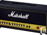 Marshall AVT50H amp - head. Outstanding health