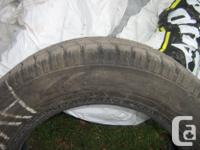 We have 4 marvelous 15 inch tires, 185/65R15. Can be