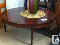 Amazing coffee table for your living-room. Throw a few