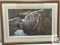 Cougar-Creekside by Ron Parker Limited Edition Print