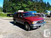 Make GMC Model Jimmy Year 1995 Colour Red kms 258844