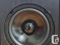 Axiom AX 1.5 Reference Monitor speakers 1987 vintage