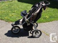 This stroller was purchased new in 2007.  It has been