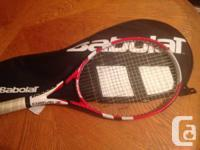 I'm offering my Babolat Drive Z Tour. I obtained this