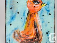 Baby Birds Original Paintings Cassandra Smith These, used for sale  British Columbia