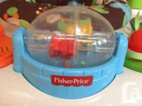 Fisher Price standing jolly jumper plays assorted music