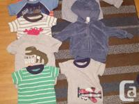 Baby Boys 6-9 month old lot of assorted clothes.