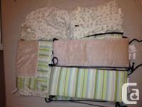 Good and Clean 7 pieces Baby Crib Bedding Set. It