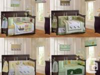 Brand New..Many Styles  Each set is 9 pieces:  - Crib