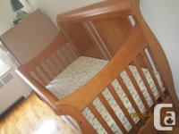 It was used for 1 baby for 1 year.  It costed $600.00.