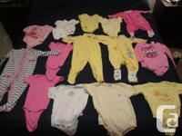 Box #5 Baby Girl clothes for 0 - 18 months old. This is