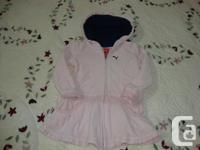 Really sweet Puma Jacket/ Dress. Very gently worn and