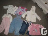 baby girls clothing in brand name- Gymboree, Please