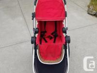 Baby jogger city select with one seat (you can add a