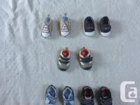 I have a few baby shoes available size 0-3 months the