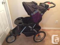 Baby Trend Stroller with built-in speakers for mp3