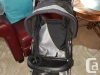 Really nice baby stroller, with see through visor,