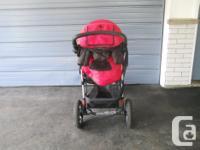 Used Tike Tech CX 3 3 Wheel Stroller, (6 - 12 months),