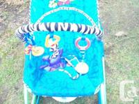 rocker for baby or your toddler. with removable play