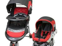 Travel system was used for 6 months and baby has now