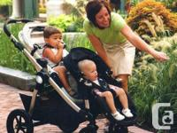 Babyjogger City Select Double stroller includes 2