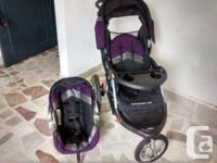 - black, purple, and grey - adjustable handle - large