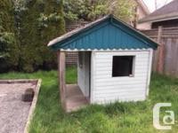 Backyard play house Size: 4'x6' + balcony Comes apart