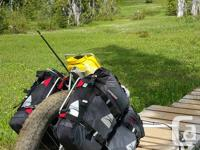 This is the perfect equipment for hiking the Trans