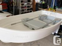 Selling my white Backwater 7.5 rowboat. These are a