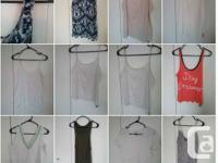 Carry on bag of clothing...jam packed...size 12-14 or