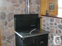 New Baker's Choice Wood Cookstove This is Suppertime