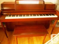 Baldwin Acrosonic Spinet With the bench Player Level: