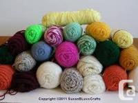 , if you have yarn you need to obtain rid of. . I would