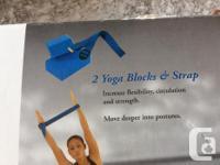Selling 2 Yoga blocks and strap. Yoga blocks and strap
