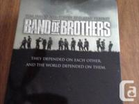 Band of Brothers Tin Box Set, tin has a few scratches